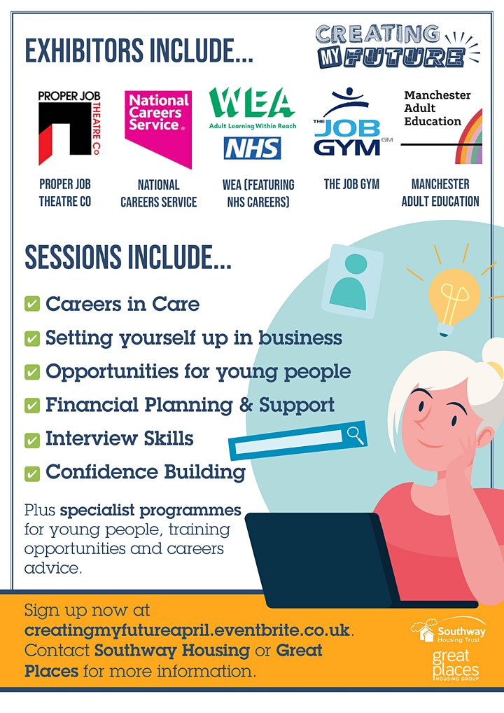 Creating My Future Careers Event image