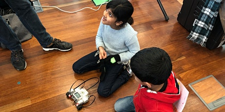 Week #1: NewTechKids 2021 Meivakantie Bootcamp 7-12 yrs (4 daily workshops) tickets