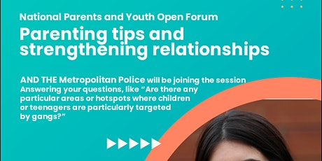 Parenting Tips and Strengthening Parental Relationships tickets