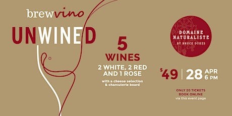 UNWINED @ Brewvino - w. Domaine Naturaliste tickets