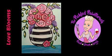 Painting Class - LOVE BLOOMS - May 2, 2021 tickets