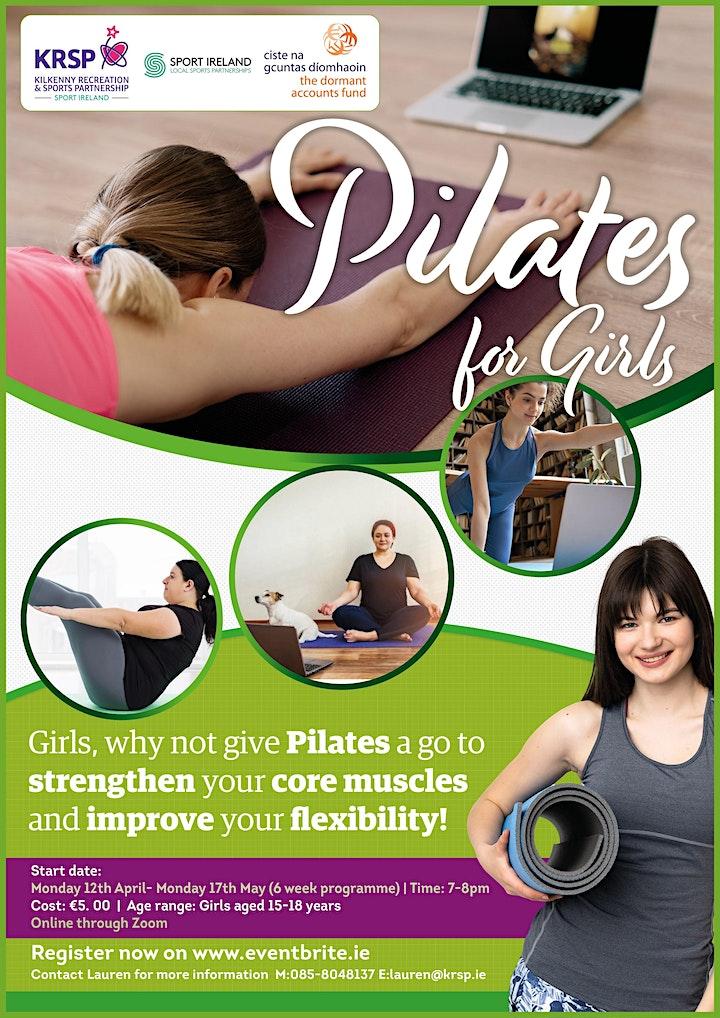 KRSP Pilates for Girls Online Programme image