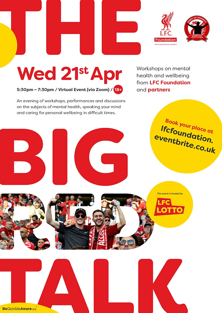 The Big Red Talk with LFC Foundation and Spirit of Shankly image