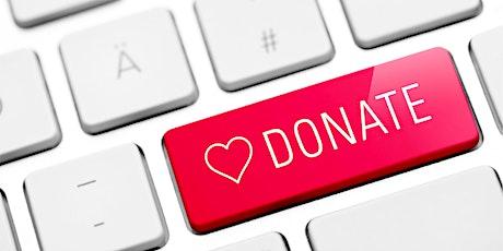 Digital Fundraising tickets