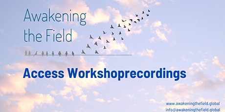 Access workshop recordings of Awakening the Field tickets
