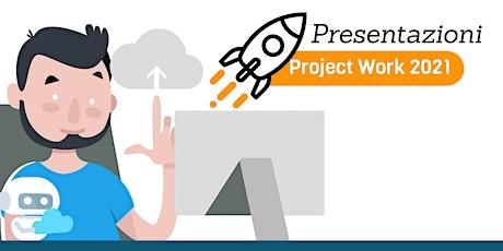 """Presentazione lavori Project Work 2021 ITS """"Alan Turing"""" biglietti"""
