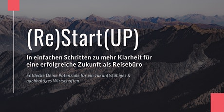 November 2021 - (Re)Start(UP) - für Dein Reisebüro Tickets