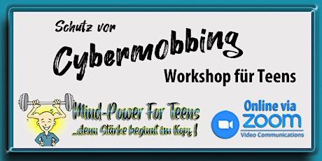 Schutz vor Cybermobbing - Workshop für Jugendliche tickets
