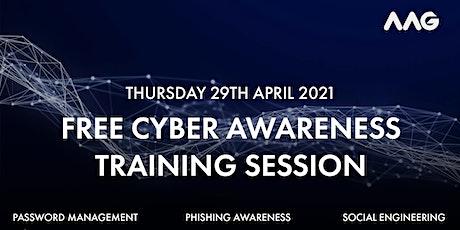 Cyber Awareness Training Webinar tickets