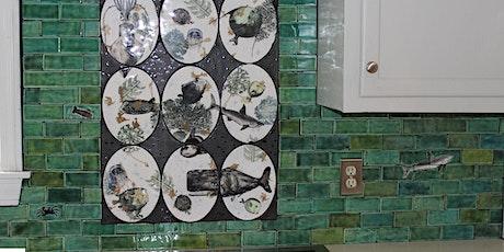 Design a custom backsplash  - Made to Order Tiles with Wanderlust Ceramics tickets
