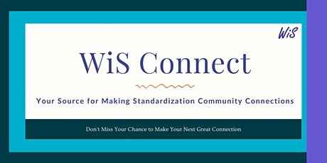Women in Standards July 2021 WiS Connect & Happy Hour tickets