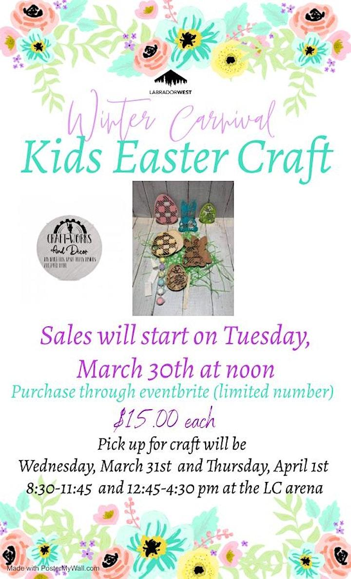 Winter Carnival - Kids Easter Craft image