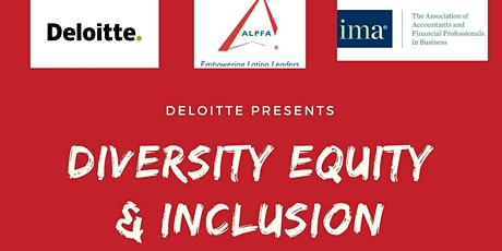Deloitte's Diversity, Equity & Inclusion presentation tickets