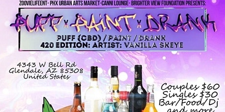 Puff Paint n Drank tickets
