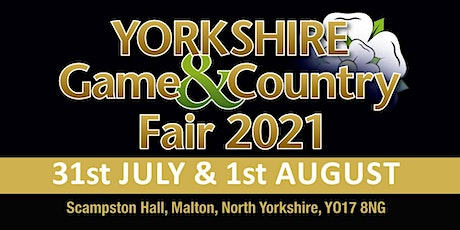Yorkshire Game & Country Fair 2021 - Trading Space tickets
