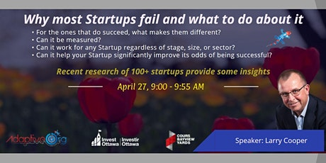 Why most Startups fail and what to do about it tickets