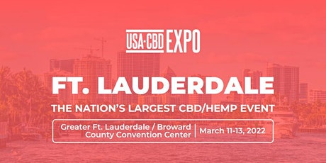 USA CBD Expo - Fort Lauderdale tickets