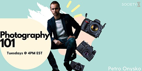 SocietyX : Photography Editing 101 Workshop tickets