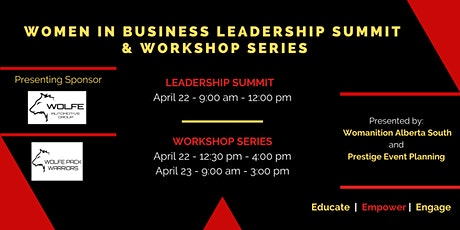 Women In Business Leadership Summit and Workshop Series tickets