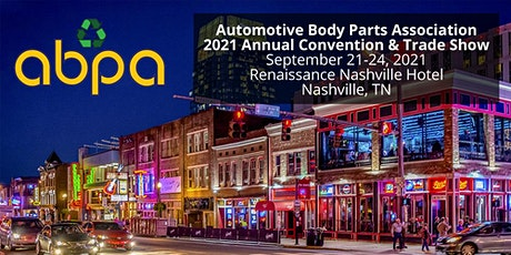 ABPA 2021 Annual Convention - Nashville, TN tickets