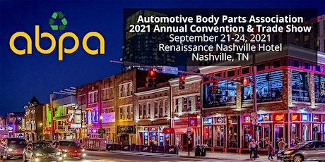 ABPA 2021 Annual Convention - Nashville, TN tickets