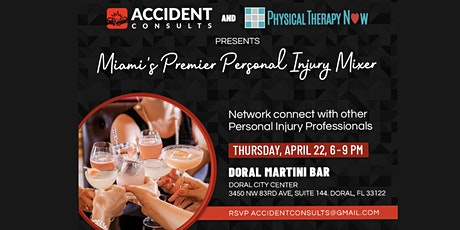 Miami's Premier Personal Injury Mixer tickets