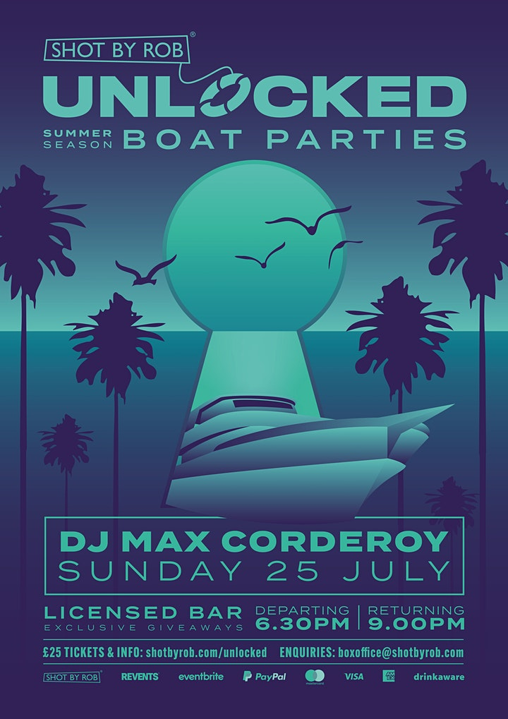 UNLOCKED BOAT PARTY WITH DJ MAX CORDEROY image