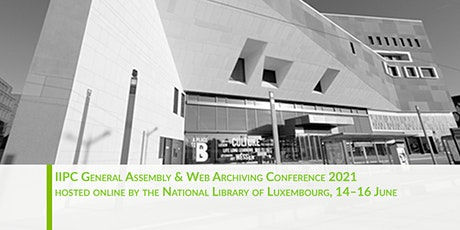 Web Archiving Conference 2021 tickets