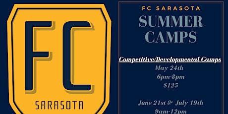 FC Sarasota Competitive Soccer Summer Camp tickets