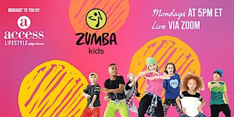Kids Zumba tickets