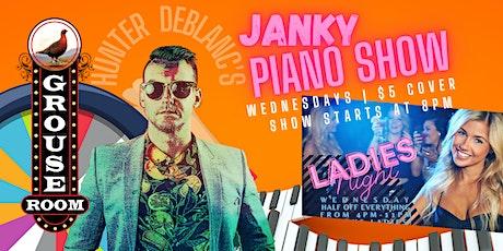 Hunter DeBlanc's Janky Piano Show tickets