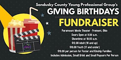 Giving Birthdays Fundraiser - Instant Family Screening tickets