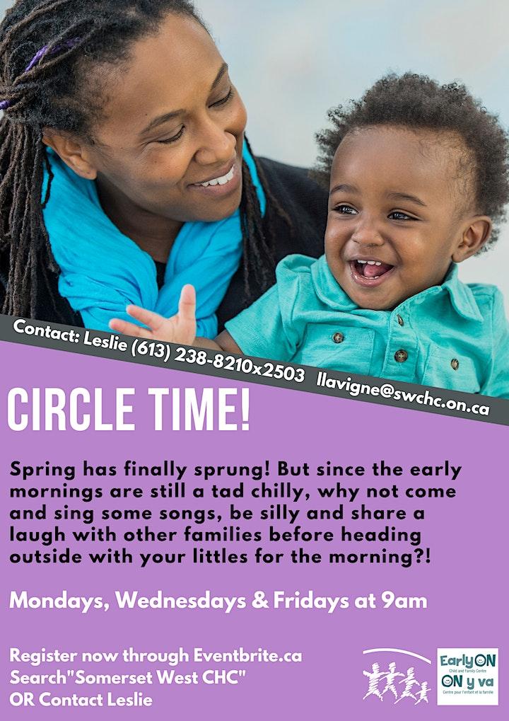 English Circle Time image