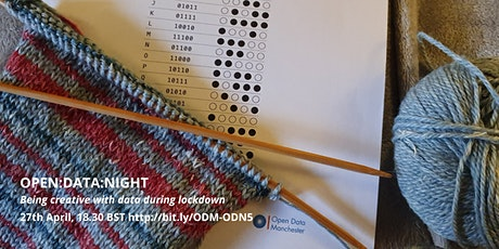 Open:Data:Night – Being Creative with Data During Lockdown tickets
