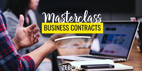 [MASTERCLASS] Business contracts - w/ EY Ventury Lawyers tickets