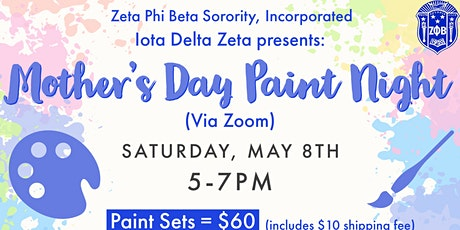 Virtual Mother's Day Paint Night tickets