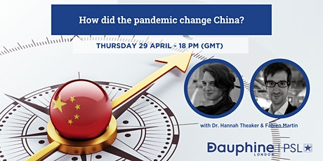 Join our next open talk webinar: how did the pandemic change China? tickets