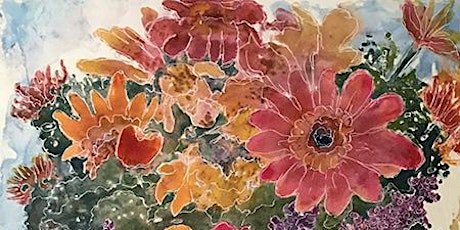 Watercolour Card Printmaking Workshop tickets