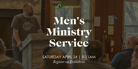 Men's Ministry Service tickets