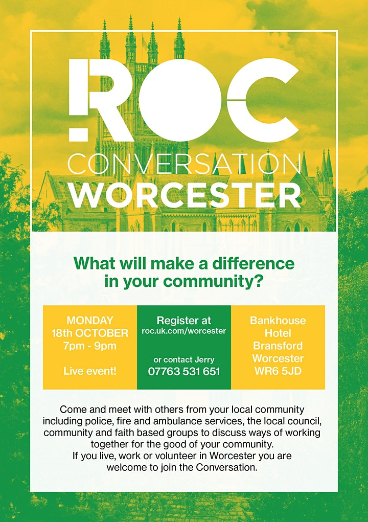 ROC CONVERSATION: Worcester image