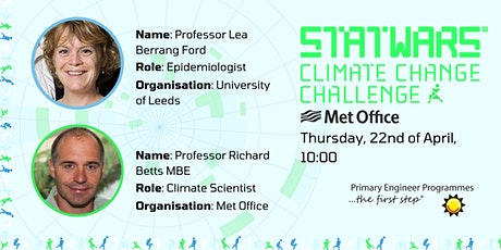 Climate Change Challenge - STATWARS and Met Office Panel Interview tickets