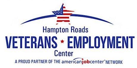 Hampton Roads Veterans Employment Center- Using Social Media for Job Search tickets
