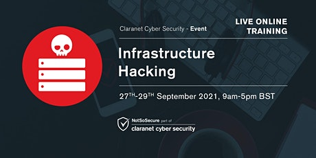 Infrastructure Hacking - Live Online Training tickets