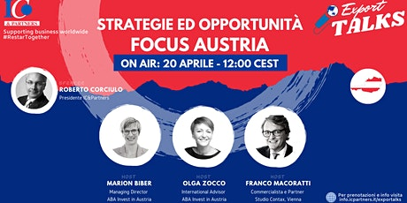 Export Talks - Focus Austria biglietti