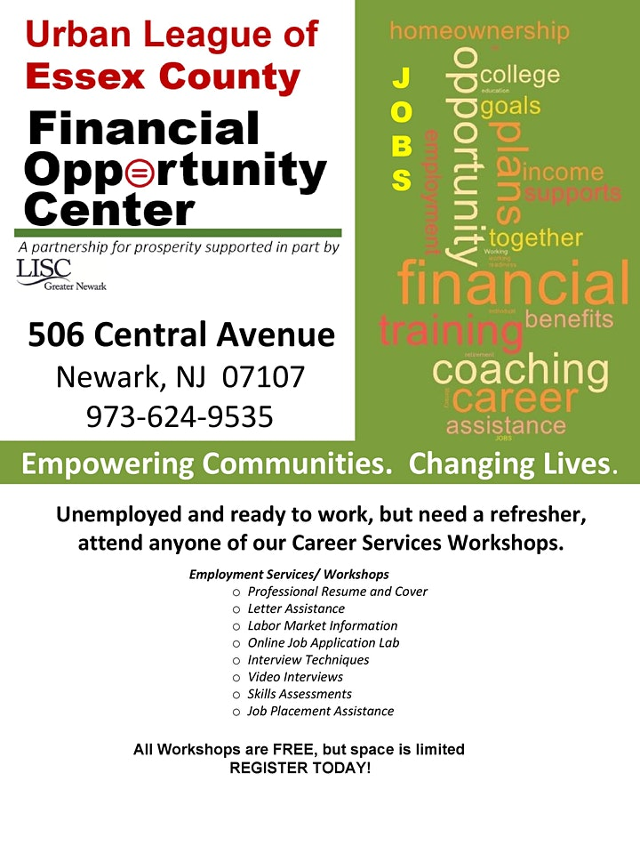 The Workforce Workshop (Resumes, Cover , & Thank You Letters) image