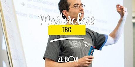 [MASTERCLASS] TBC - Part 2 w/ Bruno MARTINAUD billets