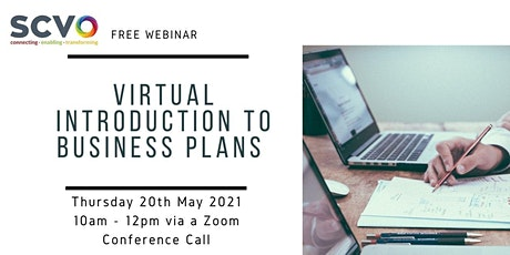 Introduction to Business Plans Free Webinar tickets
