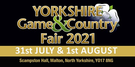 Yorkshire Game & Country Fair 2021 - Public Camping tickets