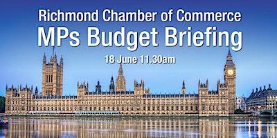 Chamber Online MPs Briefing – Richmond Park MP, followed by Twickenham MP