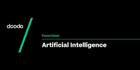 Dcode PowerWeek: Artificial Intelligence tickets